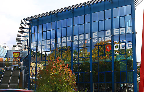 Praxis für Oralchirurgie Gera Gebäude